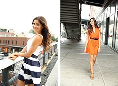 lifestyle model walking along highline